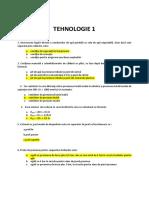 Tehnologie 1+2  _2018