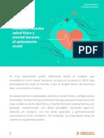 Boletín Psicopedagógico N° 2 - Cuidando de nuestra salud física y mental durante el aislamiento social