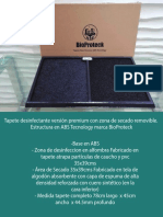 Ficha Tecníca Tapete Desinfectante De Suelas Abs - BioProteck