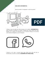 ACTIVIDADES DE TECNOLOGÍA E INFORMÁTICA