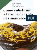 Ebook Confeitaria Sem glúten - Farinhas