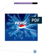 pepsi cola human resource management Project
