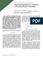 Hybrid clustering for determining optimal number of clusters