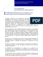Protocole Cnil Dgccrf