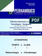 Os diversos tipos de climas e a relação com os regimes de chuvas.ppt