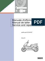 Service and Repair Manual -APRILIA-AREA 51-EngItaEsp-1