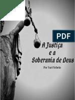 A Justiça e a Soberania de Deus Yuri Schein
