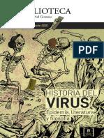Revista La Biblioteca Dossier especial 2020