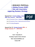 Ney Vasconcellos - MBA & PhD RESEARCH - Decision Making Process Site Scribd