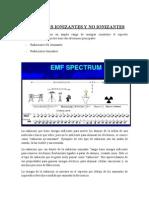Radiaciones Ionizantes y No Ionizantes