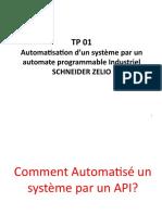 Automatisation par API Zelio