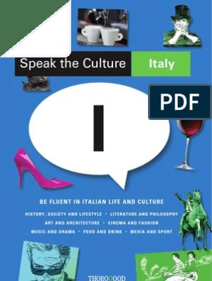 Italian Culture | Tuscany | Italy
