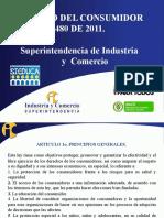 ESTATUTO DEL CONSUMIDOR LEY 1480 DE 2011.