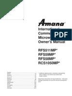 Amana radarange (2)