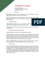 CUESTIONARIO DE CATEQUESIS