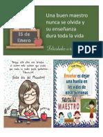 Mensajes del día de la educación