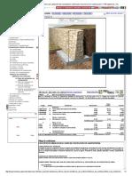 Precio en Honduras de m³ de Muro de contención de mampostería. Generador de precios de la construcción. CYPE Ingenieros, S