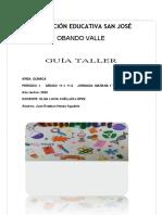 QUIMICA - GRADO 9