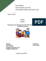 Trabajo 058 La Familia La Comunidad y El Nino