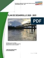 Plan de Desarrollo Municipal, año 2019- 2023 Puerto Salgar.