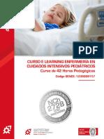 Programa Curso E Learning Enfermería en Cuidados Intensivos Pediátricos - OTEC Innovares