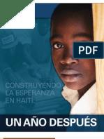 Haiti One Year Report Spanish 12