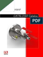 fluxcon-catalogo-VB01 - Válvula Duplo Bloqueio Flange x OD