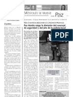 "Boletín ""Móstoles se mueve"" nº. 4, noviembre de 2010"
