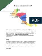 Qué países forman Centroamérica