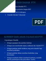 Tajuk3-Faksafah & Dasar PTV
