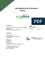 Análisis Costo-Beneficio de la Ecozona Toluca 2017