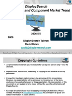 LCD Cost Break-down 2006 by Displaysearch