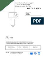 Tube Documentation - XM15