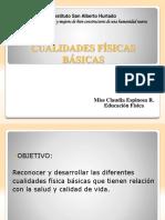 7° EB. Guía N°4 PPT de Cualidades Físicas Básicas