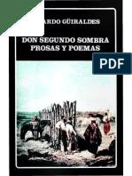 Don Segundo Sombra.