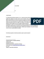 CARTA DE APOYO SOCIOECONOMICO