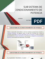 SISTEMA DE ACONDICIONAMIENTO DE POTENCIA