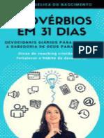 Provérbios em 31 Dias_ Devocionais diários para alcançar a sabedoria de Deus para sua vida.pdf