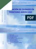 FUNDACIÓN DE CIUDADES EN TERRITORIO AMERICANO