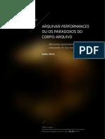 Arquivar Performance _daniel tercio