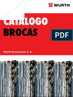 CATALOGO BROCAS WURTH 2014