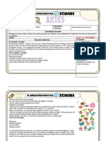 planeacion club de artes 1er grado