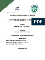 TAREA 1 INVESTIGAR SU DEFINICIÓN Y APLICACIÓN DE ESPERANZA MATEMATICA