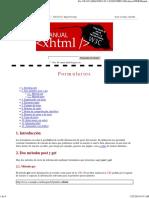 Manual XHTML_ Formularios