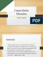 CAPACIDADES MENTALES