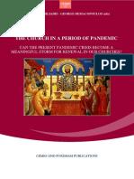 The Church in a Period of Pandemic - Book