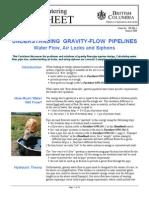 Flow Under Gravity