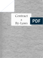 Contract by-Laws