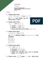 Soal Matematika Untuk Sma Matriks