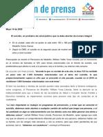 Boletín de prensa Alcaldía de Medellín - junio de 2020
